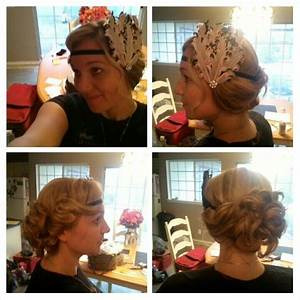 1920's updo. Andrea's formal hair design. | Formal ...