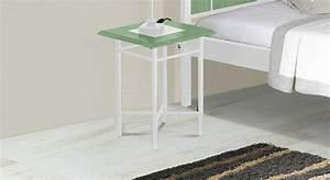 Nachttisch Metall Weiß : 40x40 cm gro er nachttisch aus eiche metall pintana ~ Markanthonyermac.com Haus und Dekorationen