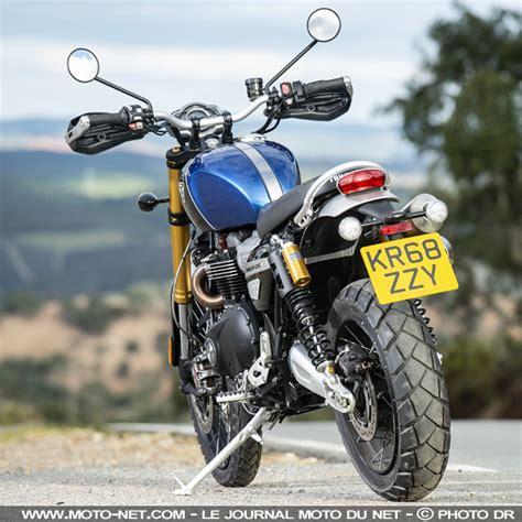 Triumph Scrambler 1200 Hd Photo by Trail Essai Triumph Scrambler 1200 Xc Et Xe Grande