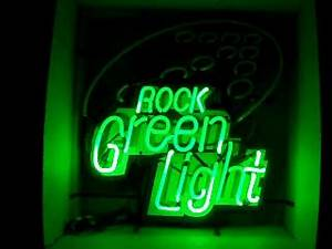 Rolling Rock Green Light Sequencing Neon Beer Bar Sign