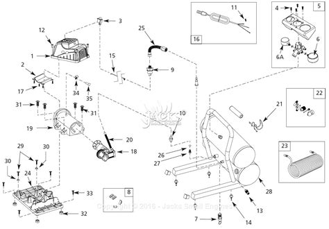 cbell hausfeld fp209501 parts diagram for air