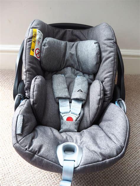 review cybex cloud  infant car seat   doves