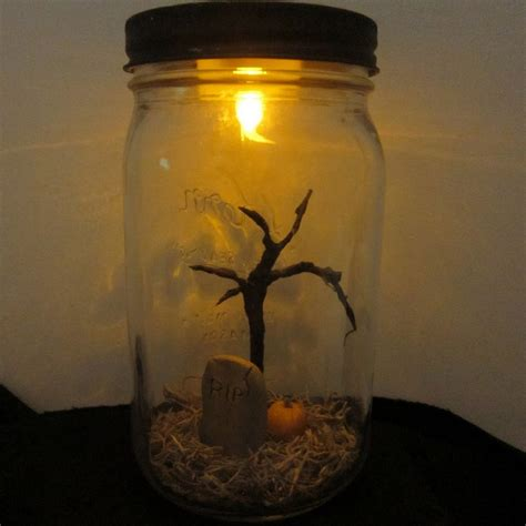 diy mason jar ideas  halloween home design garden