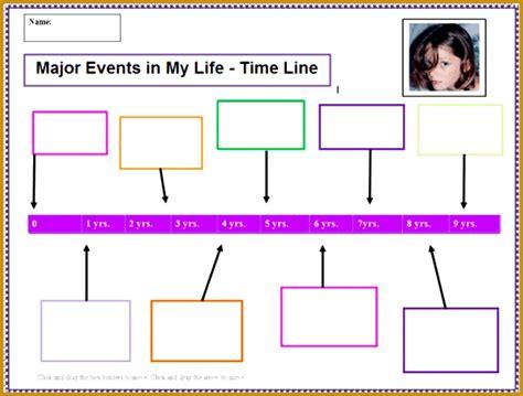timeline examples  kids fabtemplatez
