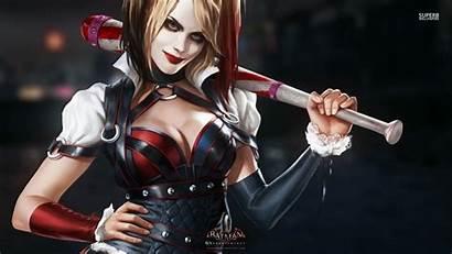Quinn Harley Awesome Wallpapers Batman Joker Arkham