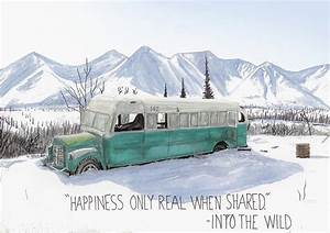 Magic Bus, Into The Wild Painting by Jack Burdess