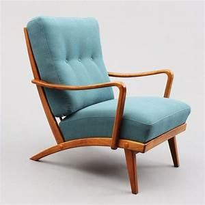 Sessel formschoner 50er jahre sessel nussbaum neu bezogen petrolblau nr 4744 a karlsruhe for Sessel 50er design