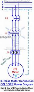 Two Speeds  Two Directions Motor Control  U0026 Power Diagram