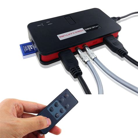 ezcap  p hd video capture box card game recorder  playstation xbox support