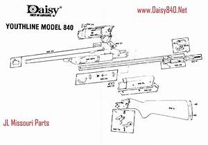 Daisy Powerline 880 Parts Manual