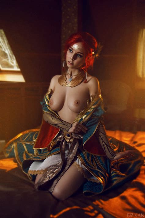 lesbianunicorn s blog ero cosplay triss merigold from the witcher by disharmonica [ nsfw