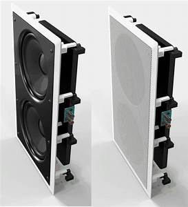In Wall Subwoofer Osd Iws88 Dual 8 U0026quot  Injected Woofers Back