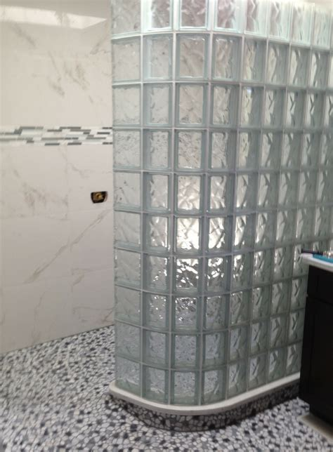 tile ready shower pan glass block shower wall installation 5 mistakes to avoid