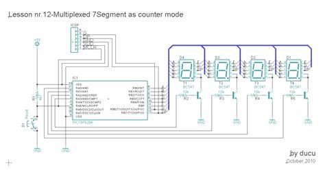 Multiplexed Segment Under Repository Circuits