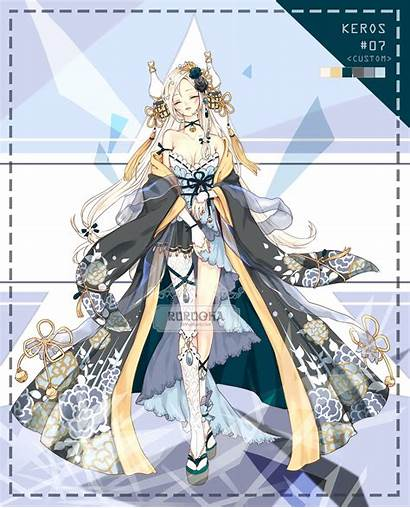 Deviantart Custom Adopt Anime Clothes Keros Rurucha
