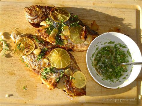 cuisine dorade dorade grillée des îles cuisine métisse
