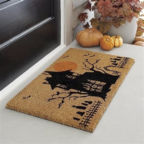 Crate And Barrel Doormat by Haunted House Coir Doormat 30 Crate And