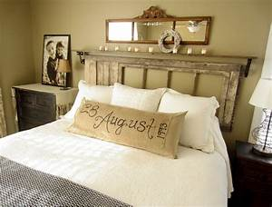 diy bedroom decorating ideas easy and fast to apply With idees deco tete de lit