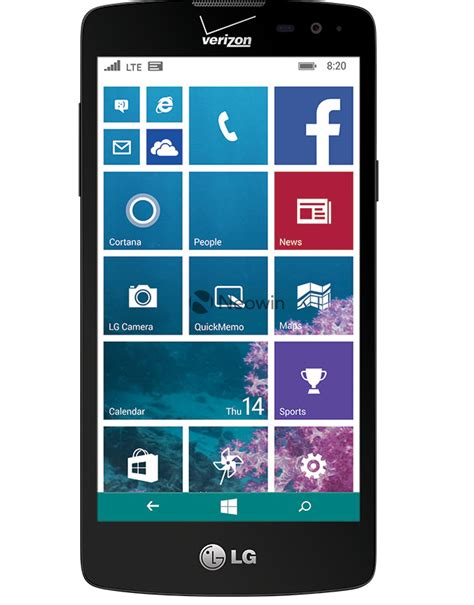 windows phone 2015 new lg windows phone handset for verizon leaked ubergizmo