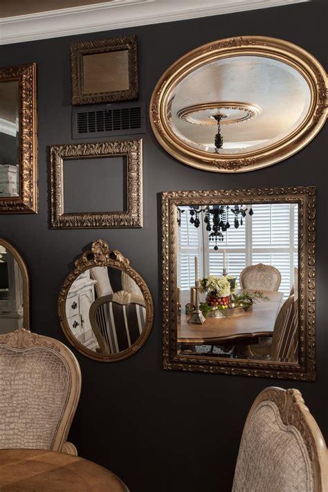 gallery wall mirrors photos hgtv