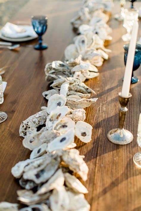ways  incorporate oysters  seaside  nautical