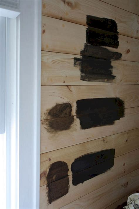 Stained Shiplap by Color Stained Shiplap Walls Color Stained Shiplap Walls