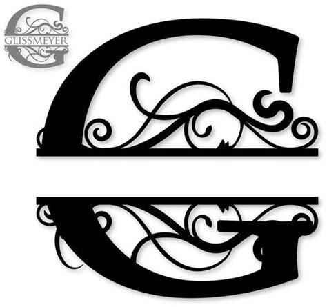 split monogram sds  split monogram  cricut monogram cricut monogram font