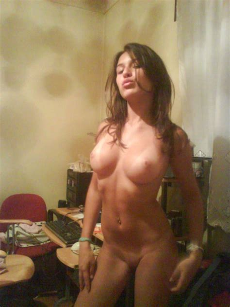 Brazilian Teen With Perfect Tits Poses In Her Bedroom 2