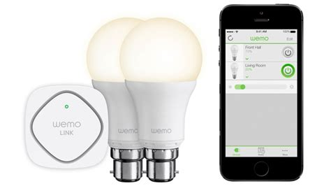 wemo led lighting starter set belkin wemo led lighting starter set review pc advisor