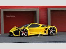 Scorpion Supercar by Maher Thebian at Coroflotcom