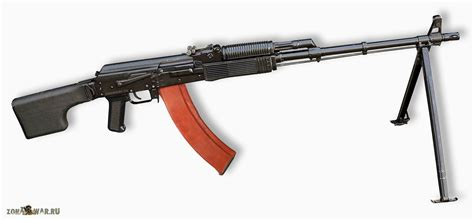 Rpk 74m Kalashnikov Modernized Light Machine Gun