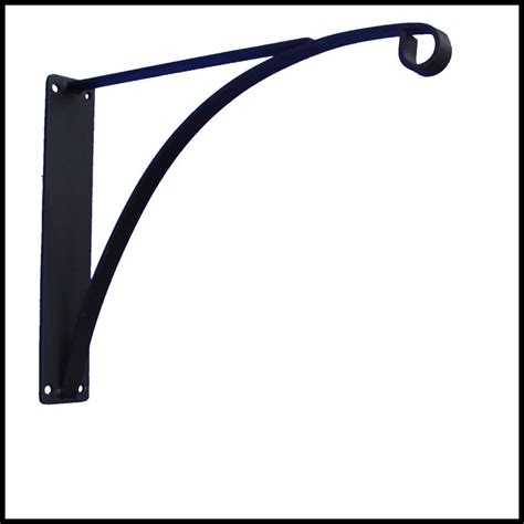 Hanging L by Commercial Hanging Basket Brackets Heavy Duty Wrought Iron