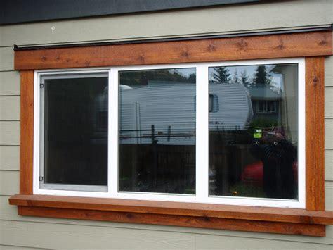 Simple Design Of Outdoor Windows Trim Homesfeed