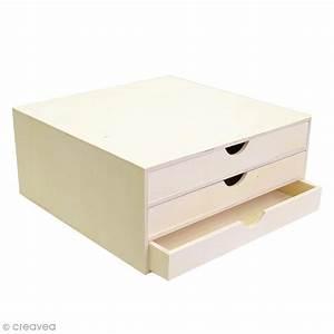 Banette De Rangement : rangement d corer en bois 34 5 x 34 x 15 5 cm meuble d corer creavea ~ Teatrodelosmanantiales.com Idées de Décoration