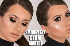 Seductive and Smokey eye makeup tutorial