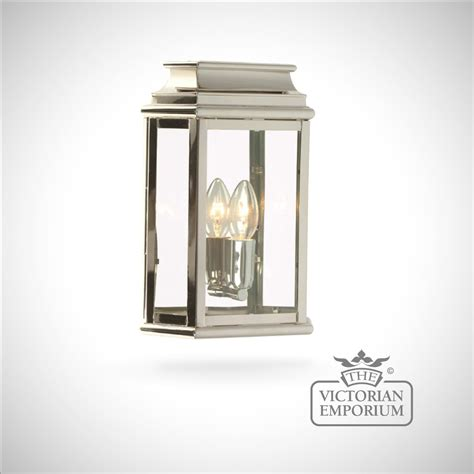 martins brass wall lantern polished nickel outdoor