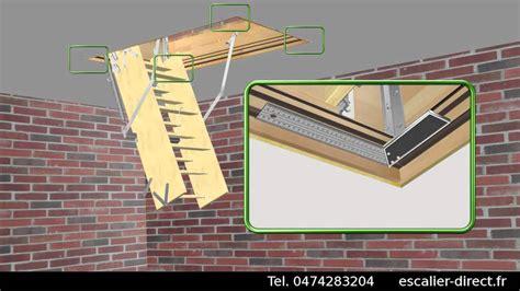 escalier escamotable sans trappe escalier escamotable escalier direct matis 232 re