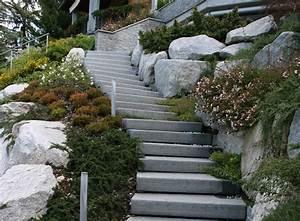 Der Naturstein Garten : naturstein treppen tipps und gestaltungsideen f r ihren garten ~ Markanthonyermac.com Haus und Dekorationen
