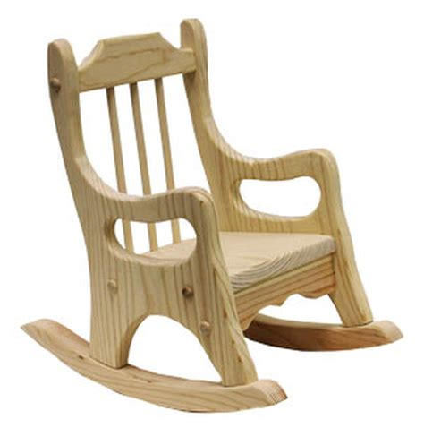 doll rocking chair woodworking plan