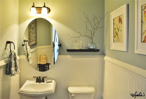 s powder room makeover