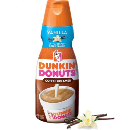 Buy one dunkin' donuts creamer 32 oz $2.99 buy 4 participating items, save $4 instantly! Dunkin' Donuts Coffee Creamer, Vanilla 6x946ml
