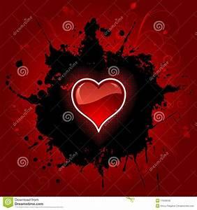 Grunge Heart Background Royalty Free Stock Image - Image ...