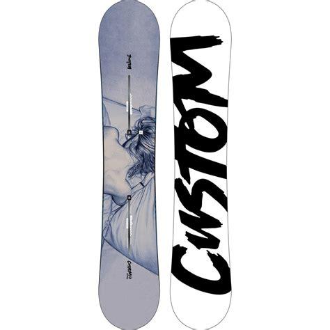 Custom Twin Flying V Snowboard 158