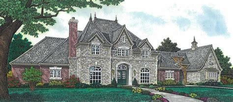 newstead manor luxury home plan   house plans