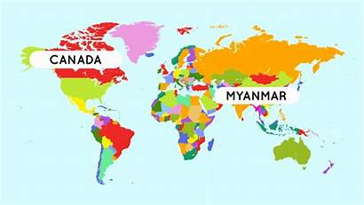 United Myanmar Nations Un Map Canada Died