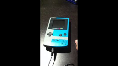 gameboy color mods gameboy color built in rechargeable battery mod