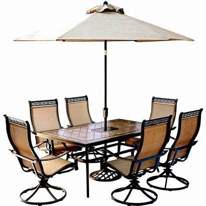 Patio Dining Sets Table Outdoor Piece Hanover