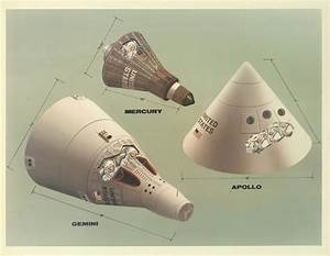 Vintage NASA illustrations show the differences among ...
