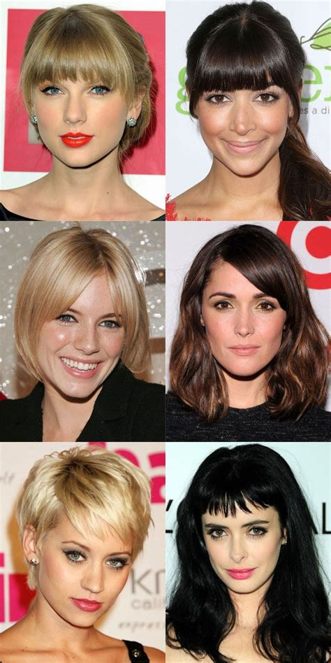 The Best (and Worst) Bangs for Oval Faces Face shape