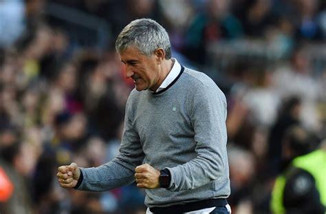 Setien convinced Barcelona can still win La Liga - ronaldo.com